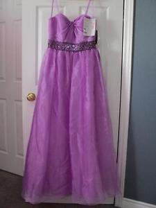 AQUA **NEW** Embellished MAXI Dress GRAD WEDDING – ORCHID SZ 10