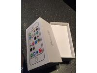 iPhone 5s empty box