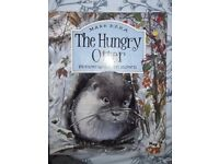 """BEAUTIFUL ILLUSTRATED CHILDREN'S WILDLIFE BOOK """"THE HUNGRY OTTER"""""""