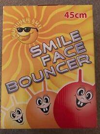 Smile face bouncer(space hopper)