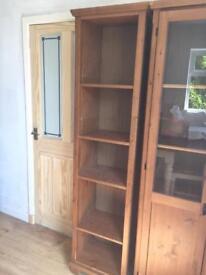Ikea bookcase / dvd unit / dvd cabinet / bookshelf (leksvik/markor range)