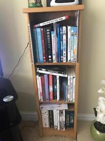 DVD/book storage