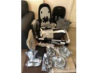 BRAND NEW Silver Cross Eton Grey Special Edition Pioneer Pram