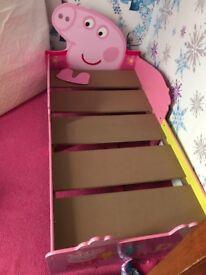 Pepper pig bed no mattress