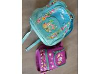 SMIGGLE BACKPACK AND PACK LUNCH