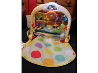 Baby car gym , all attachments with it and in good condition