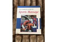 Sports massage book