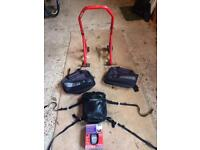 Optimate charger, Kriega 10 tail bag, oxford soft panniers and a rear paddock stand