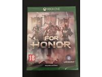 For Honour xbox one game new