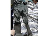 size 9 Vass Chest waders