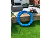 MDPE pipe 25mm x 18m approx.