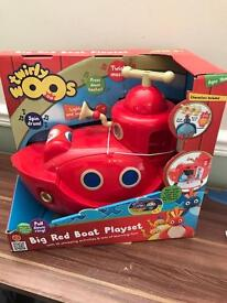 Twirly Woos big red boat new