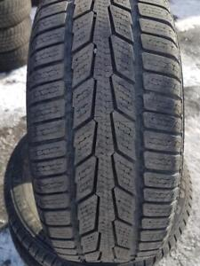 4 PNEUS HIVER - SEMPERITO 195 60 15 - 4 WINTER TIRES