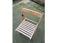 Garden folding chairs and bench folding hinges
