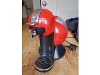 Krups Nescafe Dolce Gusto Coffee Machine Coffee Maker Melody Red