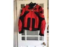 Unisex motorbike jacket