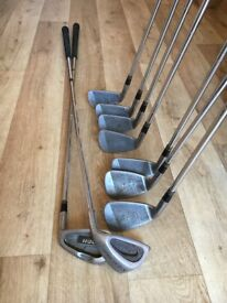 Set of DDH oversize irons
