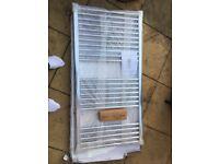 Pisa towel rail/radiator straight for bathroom