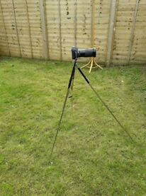 Pentax p30 with vivitar 28-210 zoom and tripod