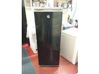 5 foot tall black swan larder fridge