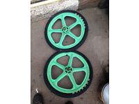 Bmx MAG wheels.