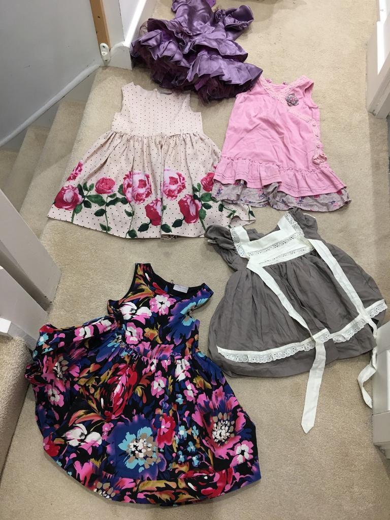 Girls under 4 dresses bundle plus more