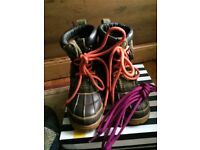 Boys Joules field boots