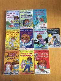 10 Horrid Henry Books