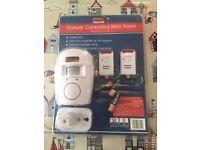 Remote Controlled Mini Alarm with 2 Remote Controls