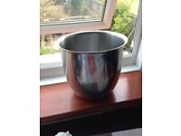 Various Stainless steel bowls/ pots