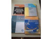 CEA English certificate books