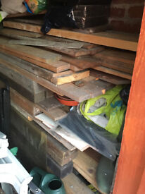 WOOD OF DIFFERENT SIZES AND DIMENSIONS