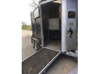 Ifor Williams HB505 double horse Trailer