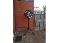 dartboard and stand and protective ring
