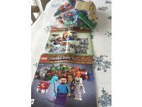 Lego minecraft 21116 £20 ono