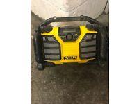 Dewalt radio larger size