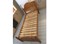 Single bed and mattress - free