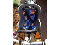 Baby/Toddler Bike Seat and Helmet