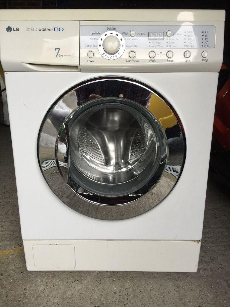 Lg Intellowasher Dd 7 Kg Load Washing Machine Wm1480fhd