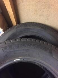 Tires 265/60/18 of shogun