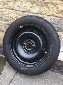 Wheel and Tyre - 185/60/15