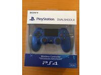 Sony PS4 DualShock 4 Wave Blue V2 Controller Brand New