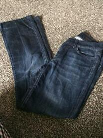 7 for all mankind highwaist Jeans 32/14