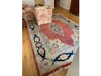 Extra large Persian rug traditional style carpet