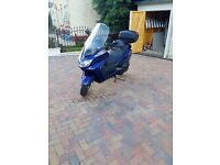 Yamaha Majesty 400 (2004), blue