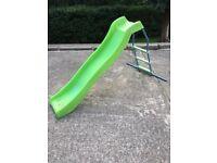 Children's garden slide