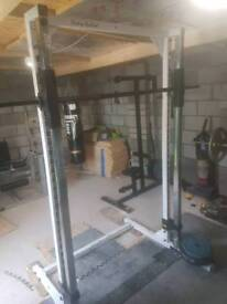 Smith machine ( body solid ) or swap for cross trainer