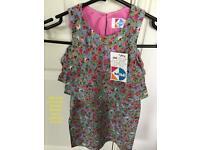 Kids Mini Print Dress