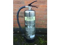 Fire extinguishers chrome x 6