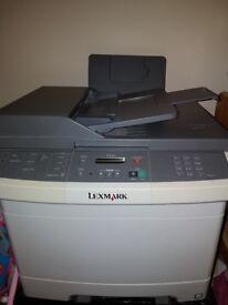 Lexmark x543 colour laser printer/scanner